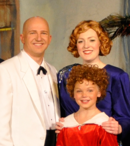 Warbucks, Grace and Annie