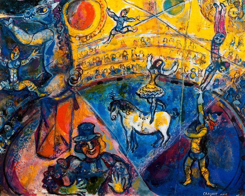 Chagall_TheBlueCircus