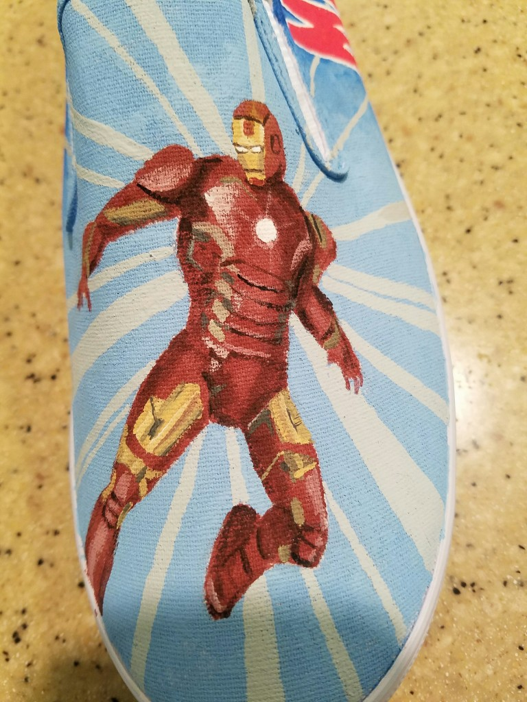 Iron Man close-up