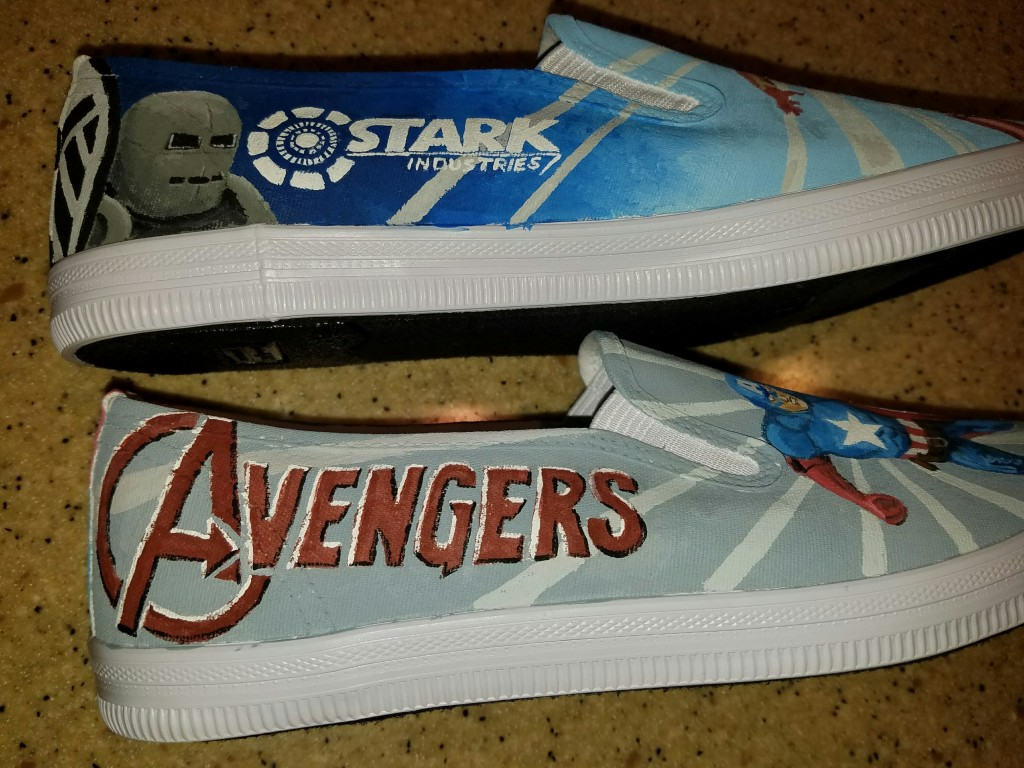 Avenger shoes side detail