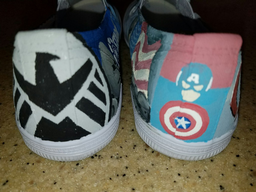 Avenger shoes back detail